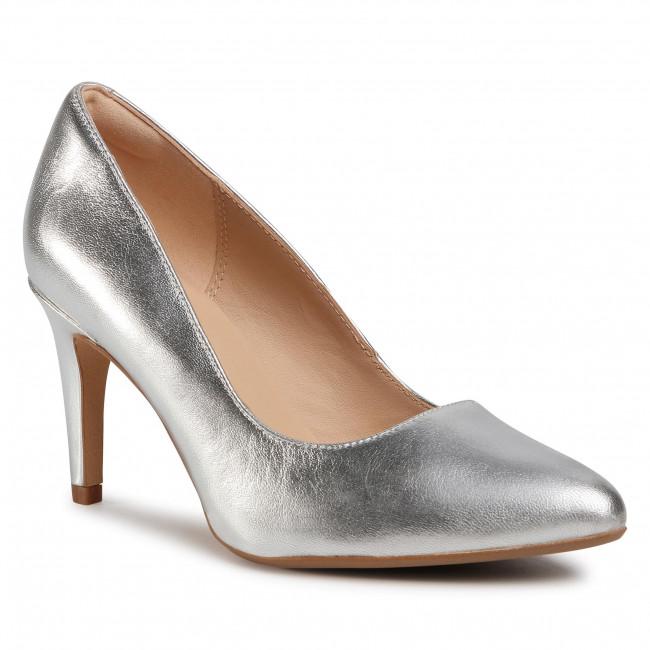 Lodičky CLARKS - Laina Rae 2 261511604  Silver Metallic