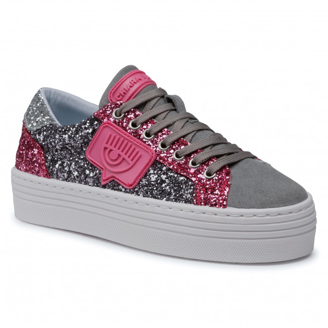 Sneakersy CHIARA FERRAGNI - CF2707 031 Multi-Grey