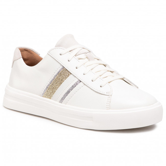 Sneakersy CLARKS - Un Maui Band 261528254  White Interest