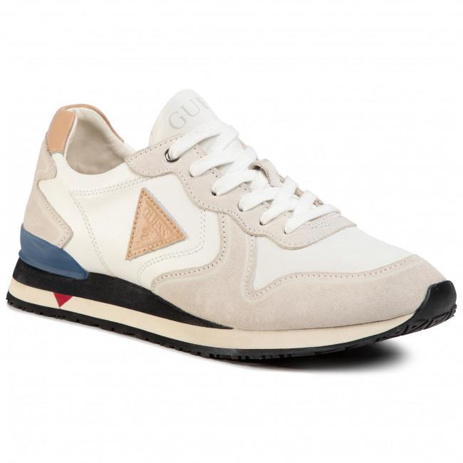 Sneakersy GUESS - New Glorym FM5NGL LEA12 SAND