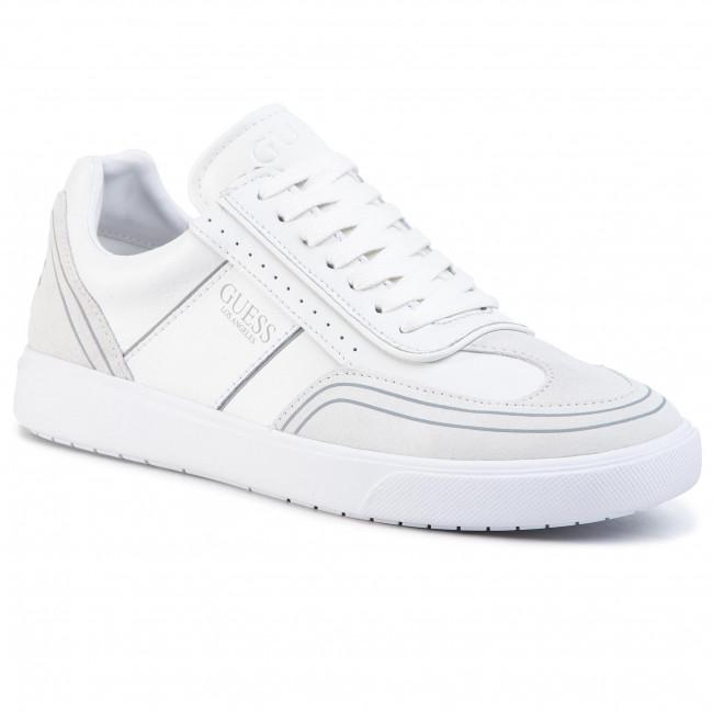 Sneakersy GUESS - Mercurio FM6NET LEA12 WHITE