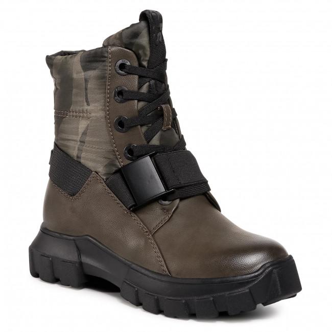 Outdoorová obuv BETSY - 908329/08-02G Khaki/Czarny