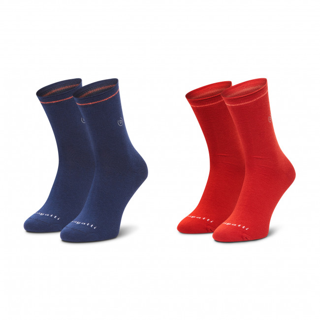 Súprava 2 párov vysokých ponožiek unisex BUGATTI - 6974 Butternut