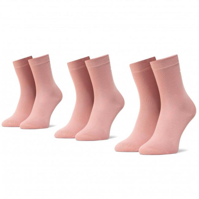 Súprava 3 párov vysokých ponožiek detských TOM TAILOR - 9203 Nostalgie Rose 455