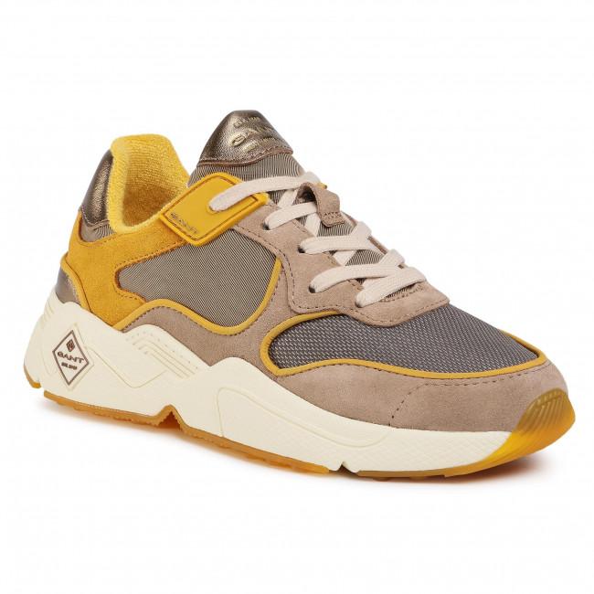Sneakersy GANT - Nicewill 21533868  Yellow/Beige