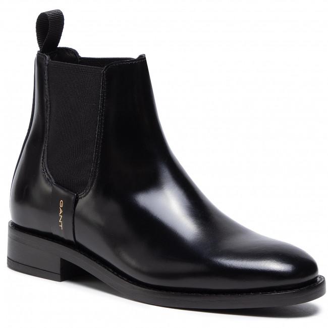 Kotníková obuv s elastickým prvkom GANT - Fayy 21551941  Black G00