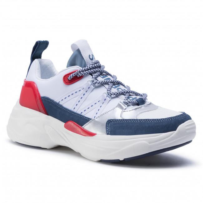 Sneakersy PEPE JEANS - Sinyu Tech PLS30987 White 800