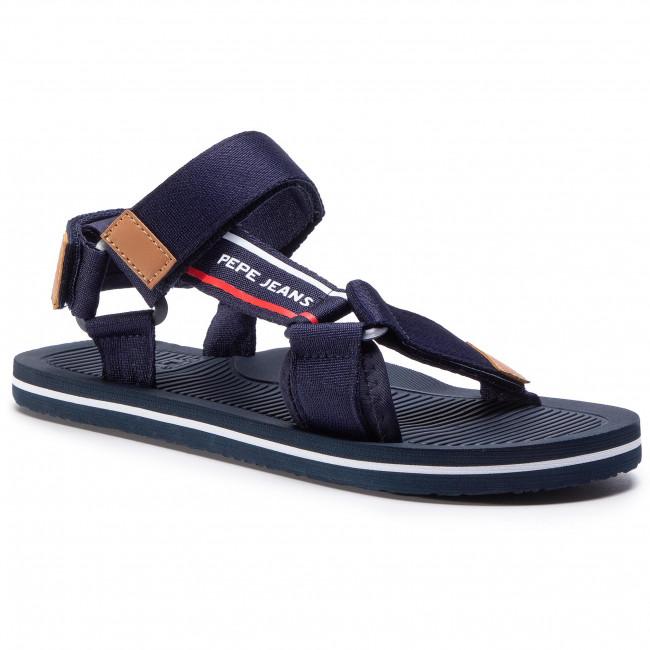 Sandále PEPE JEANS - Pool Basic Men PMS90081  Navy 595