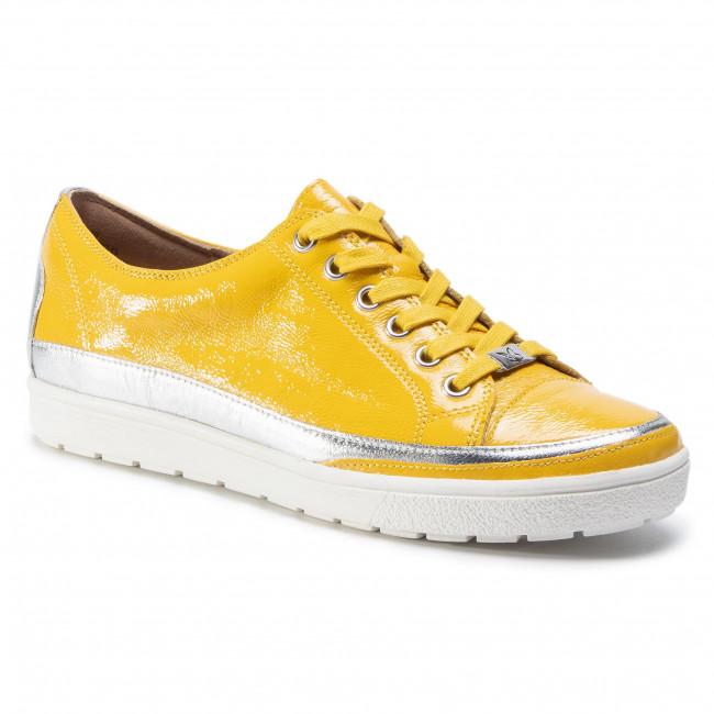 Sneakersy CAPRICE - 9-23654-24 Lemon Naplak 629