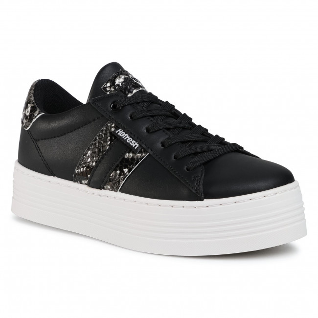 Sneakersy REFRESH - 72436 Black/Black