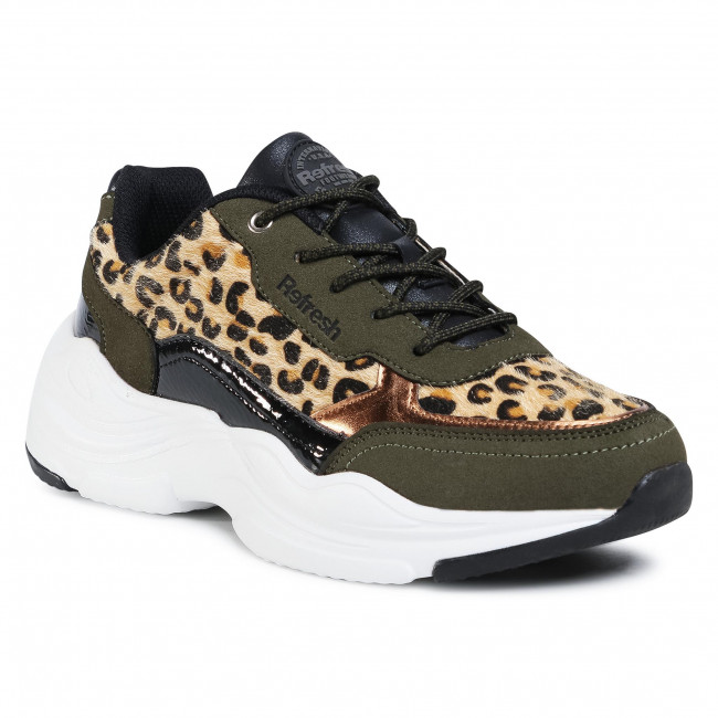 Sneakersy REFRESH - 72561 C. Com. Leopard