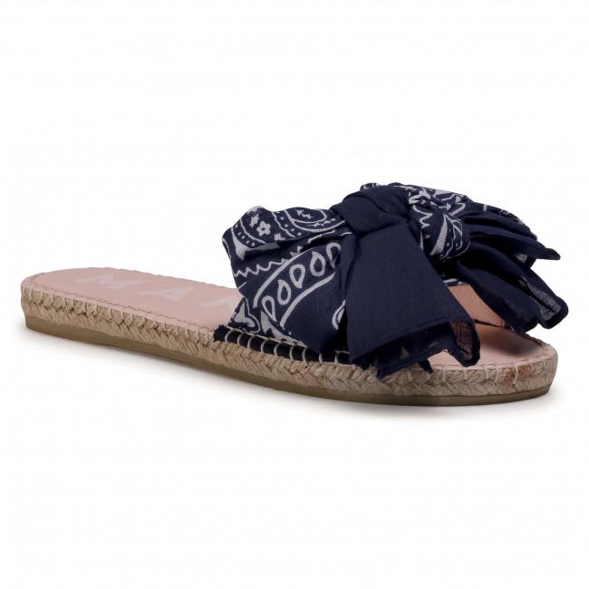 Espadrilky MANEBI - Sandals With Bow F 9.6 J0 Navy Bandana