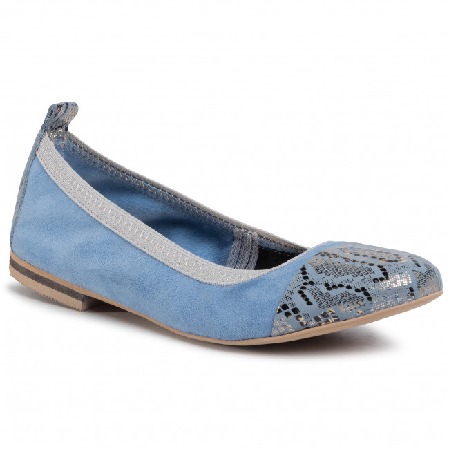Baleríny R.POLAŃSKI - 1101 Błękitny Comfort