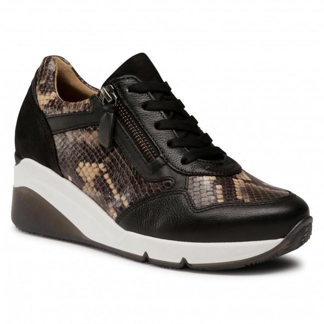 Sneakersy GABOR - 56.488.81 Taupe/Schwarz