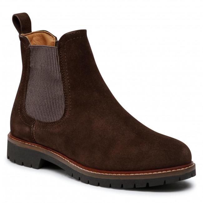 Kotníková obuv s elastickým prvkom SALAMANDER - 32-41709-23 Brown
