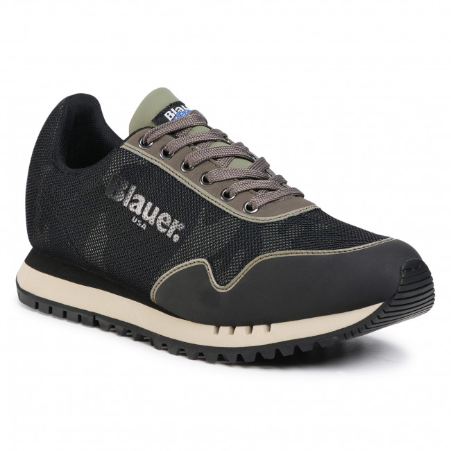 Sneakersy BLAUER - F0DENVER05/CAM Military Green
