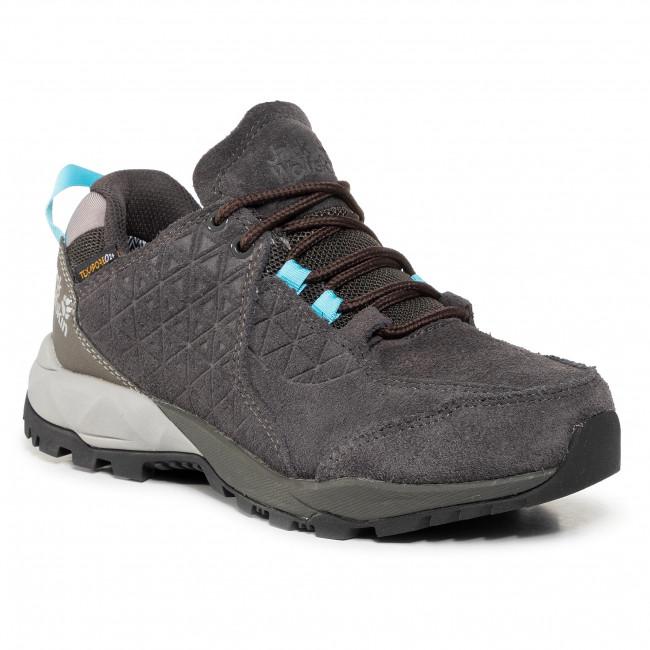 Trekingová obuv JACK WOLFSKIN - Cascade Hike Lt Texapore Low W 4035521 Phantom/Blue