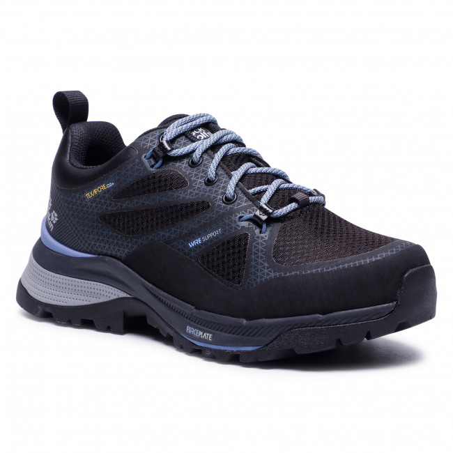 Trekingová obuv JACK WOLFSKIN - Force Striker Texapore Low W 4038891 Black/Blue