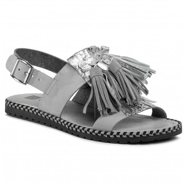 Sandále NESSI - 19569/M Szary 11