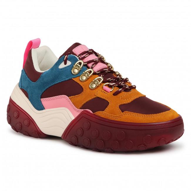 Sneakersy SCOTCH & SODA - Belva 21731074 Bordo Multi S543