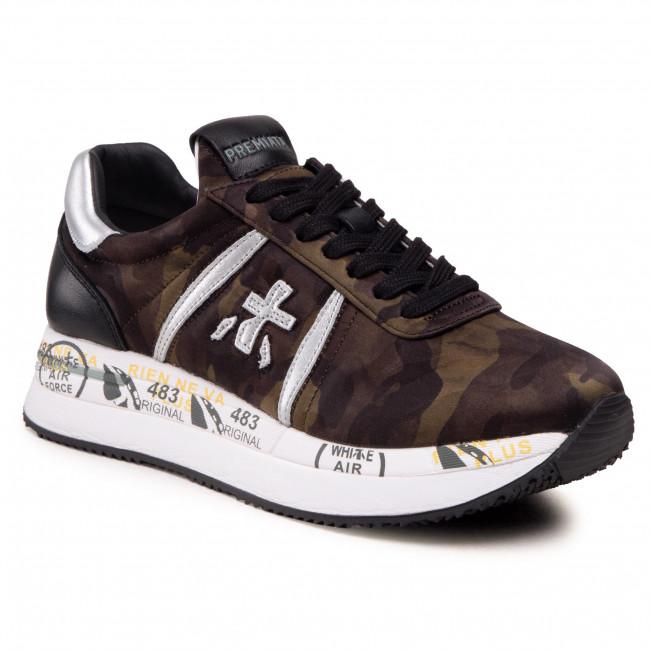Sneakersy PREMIATA - Conny 5050 Camouflage Green