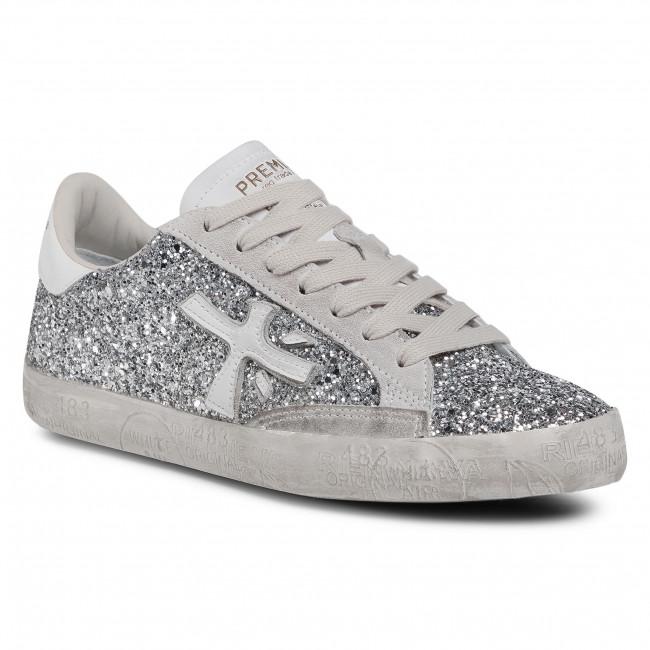 Sneakersy PREMIATA - Stevend 4879 Silver