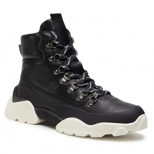 Sneakersy VOILE BLANCHE - Cat 02 0012501890.03.0A01 Nero