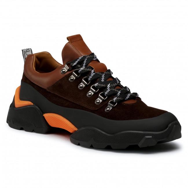 Sneakersy VOILE BLANCHE - Cat 03 0012015490.02.1A08 Nero/T.Moro