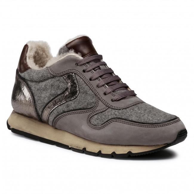 Sneakersy VOILE BLANCHE - Julia Fur 0012015207.01.1B67 Grigio/Nero