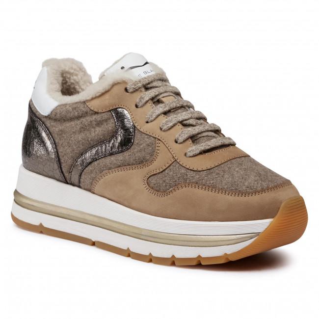 Sneakersy VOILE BLANCHE - Maran Fur 0012015235.02.1E10 Beige/Grigio/Platino
