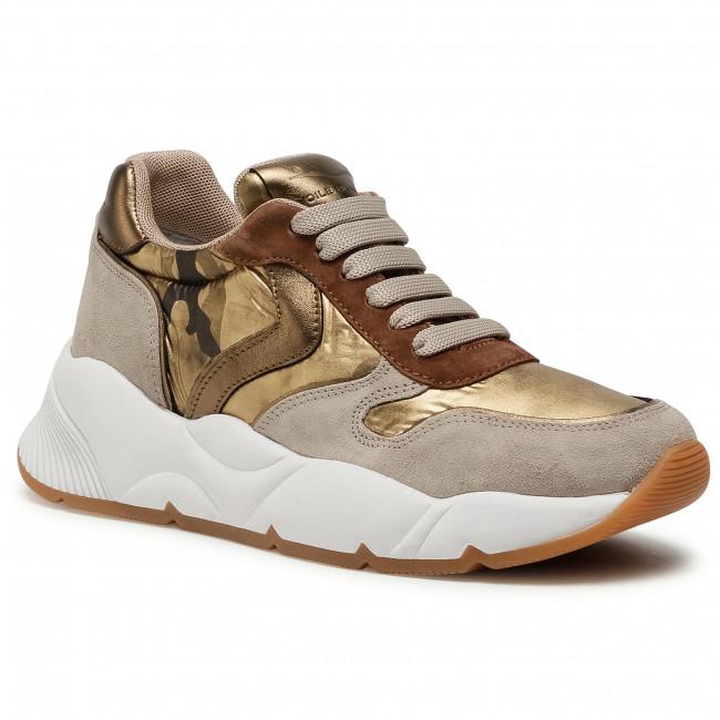 Sneakersy VOILE BLANCHE - Sheel 0012015255.03.1D99 Sabbia/Oro
