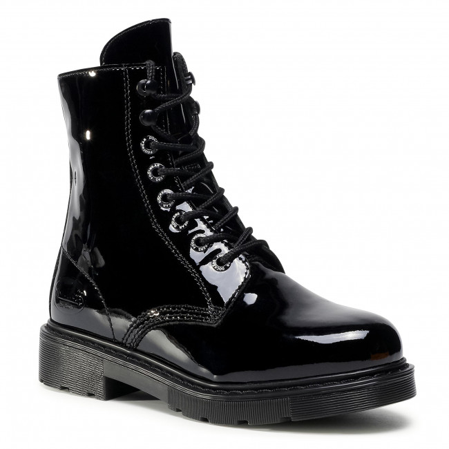 Členkové čižmy DOCKERS - 45EN201-150100 Black