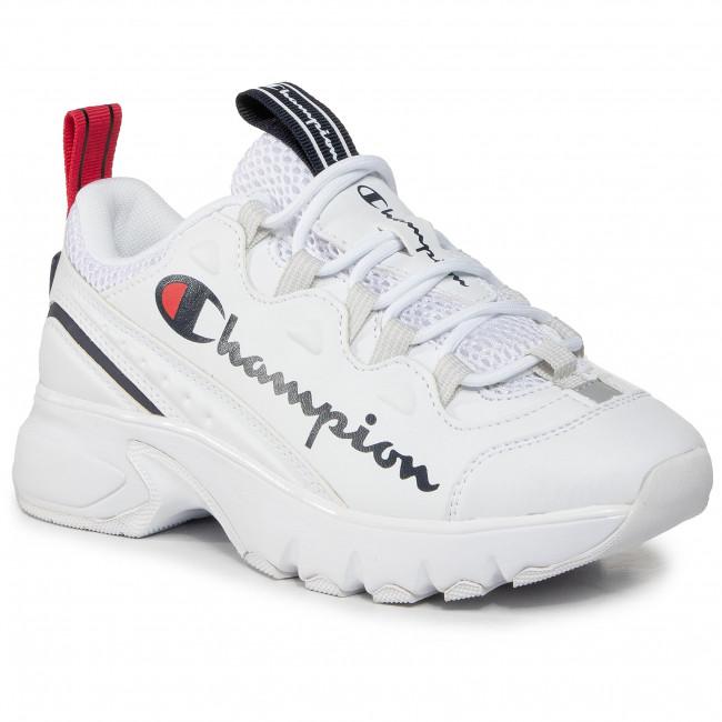 Sneakersy CHAMPION - Cwa Hornet S11074-F20-WW06 Wht/Blu/Red