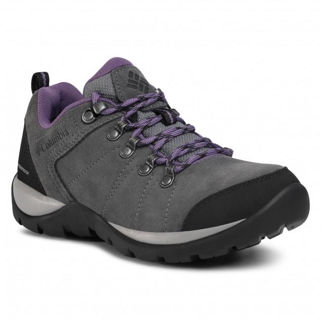 Trekingová obuv COLUMBIA - Fire Venture S II Wp BL0827  Titanium Mhw/Plum Purple