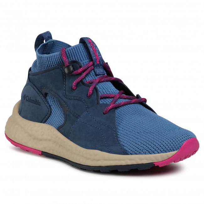 Sneakersy COLUMBIA - Sh/Ft Outdry Mid BL1020 Blue/Fuc 461