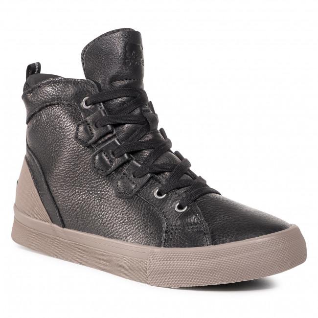 Sneakersy SOREL - Caribou Sneaker Mid Wp NM3969 Black