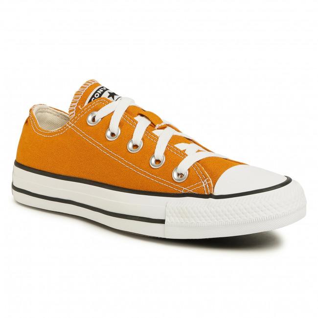 Tramky CONVERSE - Ctas Ox 168578C  Saffron Yellow
