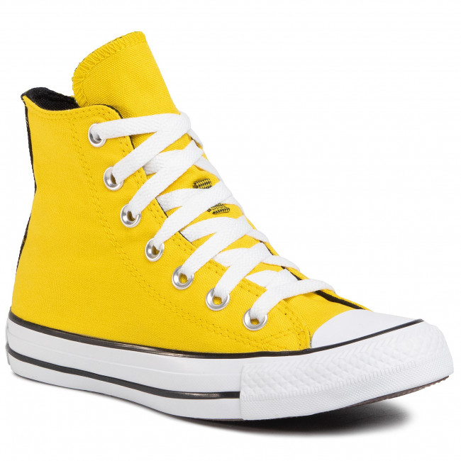 Tramky CONVERSE - Ctas Hi 568495C Speed Yellow/White/Black