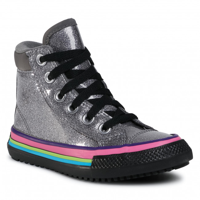 Sneakersy CONVERSE - Ctas Pc Boot Hi 668481C Thunder/Bright Pear/Black