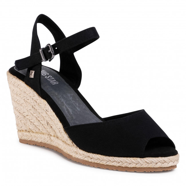 Espadrilky BIG STAR - DD274A209BS  Black