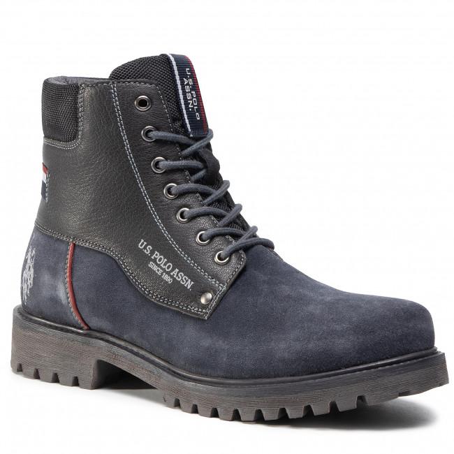 Outdoorová obuv U.S. POLO ASSN. - Boral 4132W0/SL1 Dkbl