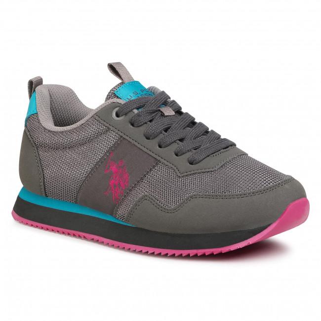 Sneakersy U.S. POLO ASSN. - Teva5 NOBIW4156S9/MH2 Dkgr