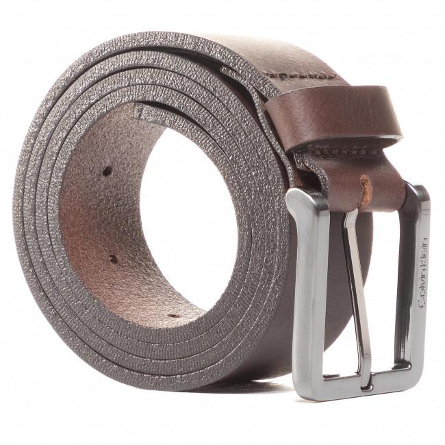 Opasok Pánsky CALVIN KLEIN - Essential Plus 35mm K50K505748 Dark Brown GE7