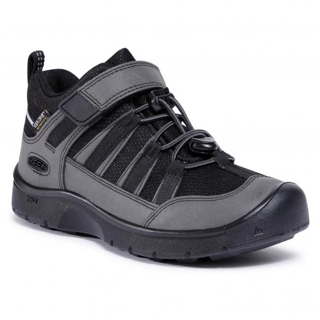 Trekingová obuv KEEN - Hikeport 2 Low Wp 1023949 Black/Black