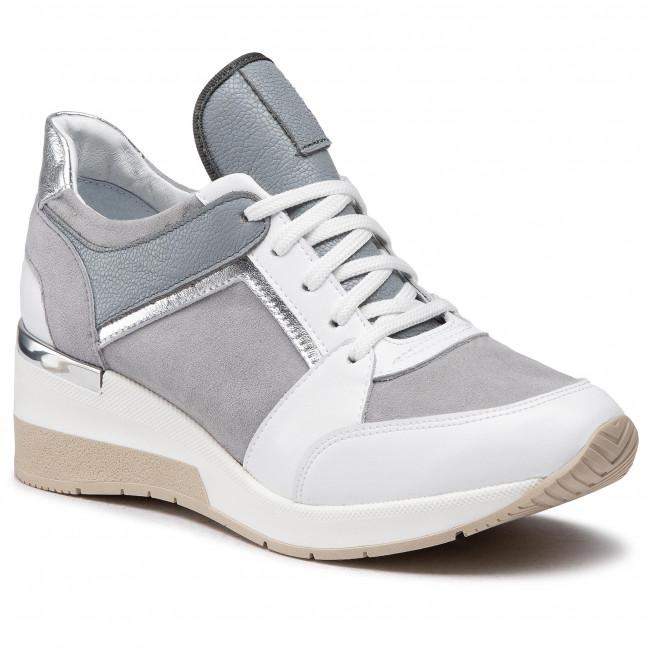 Sneakersy BALDACCINI - 1528000 Biała/Ks/Szary Zamsz