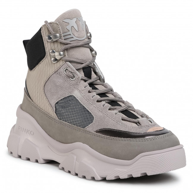 Sneakersy PINKO -  Love Trek High Al 20-21 PBKSH 1P21XY Y6PU Grigio Ch II9