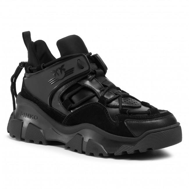 Sneakersy PINKO - Love Trek Low 1 AI 20-21 PBKSH 1P220W Y6PZ Black Z99