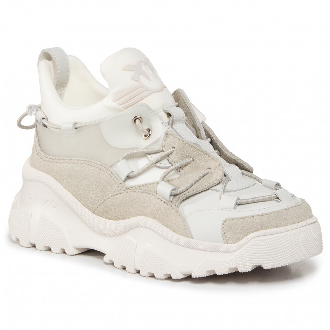 Sneakersy PINKO - Cumino 3 Sneaker AI 20-21 PBKSH 1P220Y Y628 White Z04
