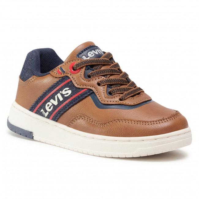 Sneakersy LEVI'S® - Irving VIRV0001S Cognac 0241