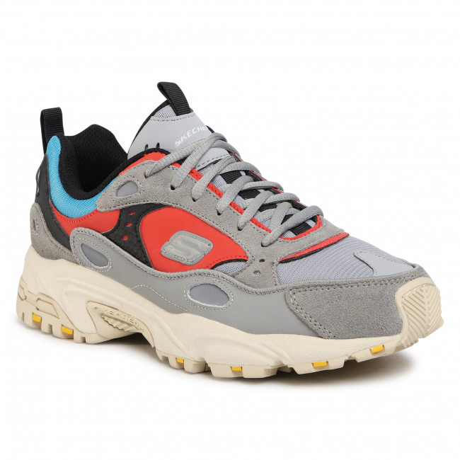 Sneakersy SKECHERS - Stamina 51708/GYMT Gray/Mt